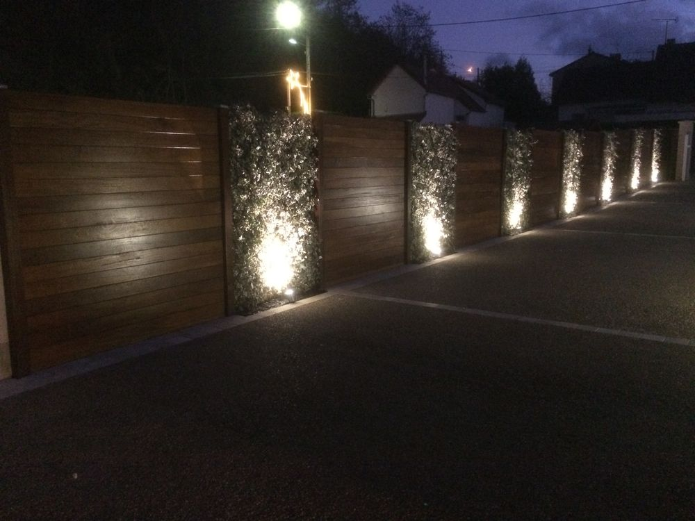 Eclairage terrasse bois led id es de for Lumiere terrasse led
