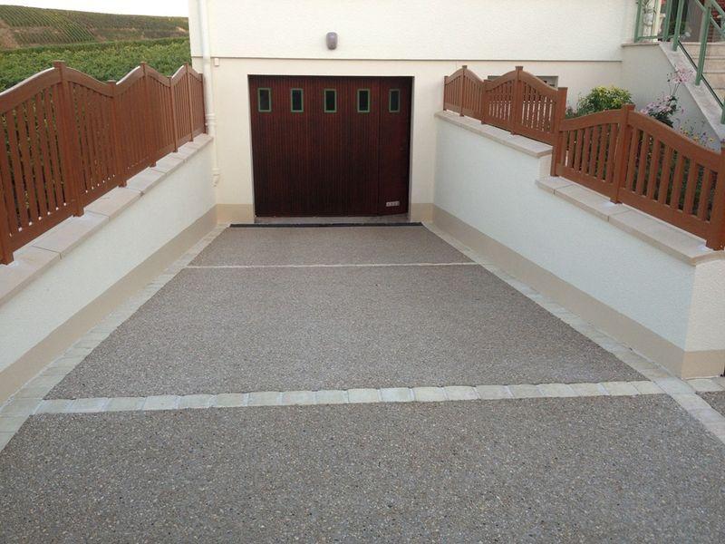 L 39 entreprise les espaces verts de la champagne vous for Descente de garage en beton desactive